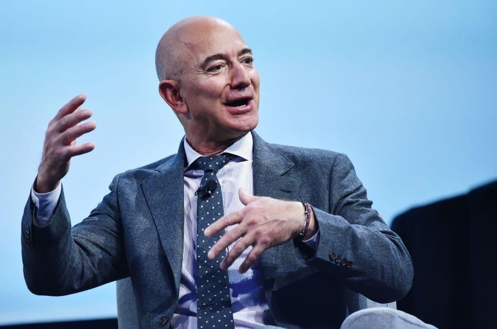 Jeff Bezos goes to school