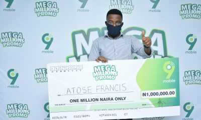 N1 Million Naira Winner Lauds 9mobile's Consistent Quality Network
