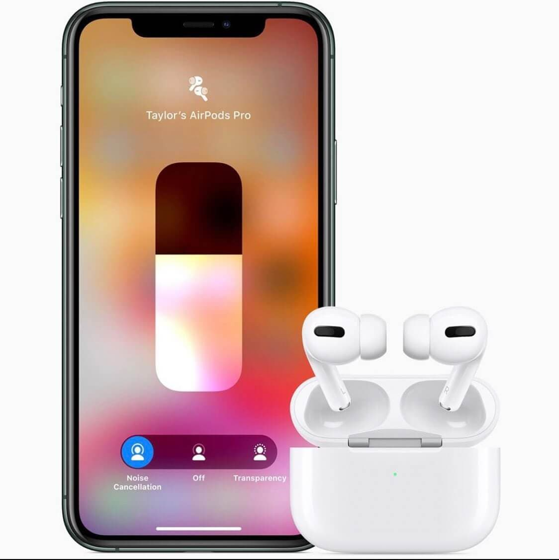 How to wear AirPods Pro properly