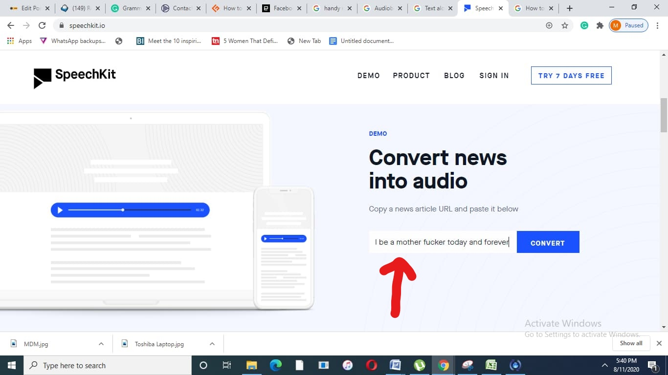 How to Convert Articles to Audio Files