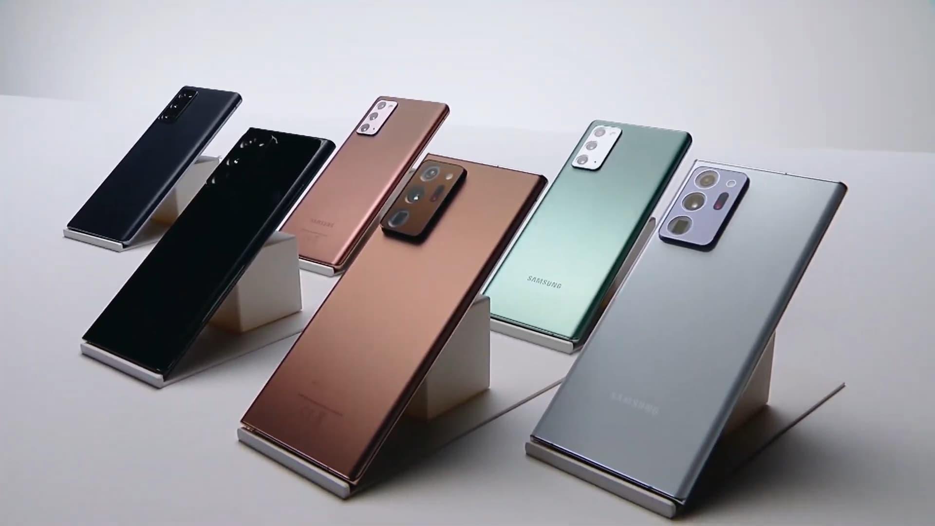 Samsung Galaxy Note 20 Ultra Processor and storage