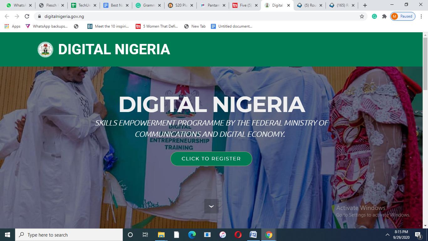 Nigeria Digital Portal Goes Live: Familiarise Yourself