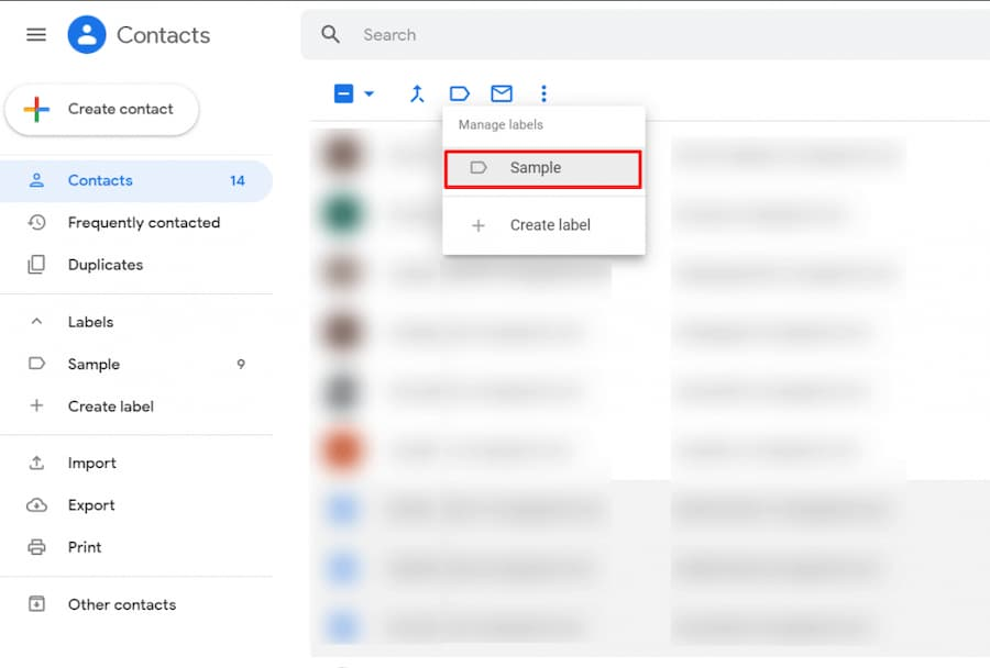 how to create an email group in Gmail
