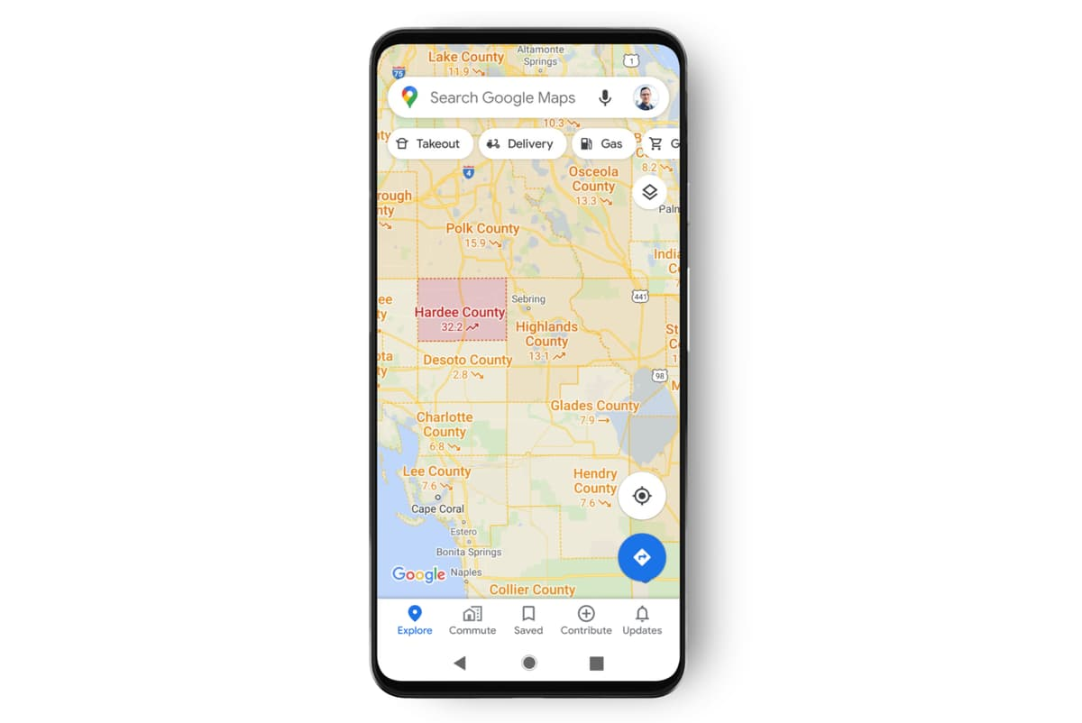 Google Updates its Map with a High-priority Covid-19 Tool