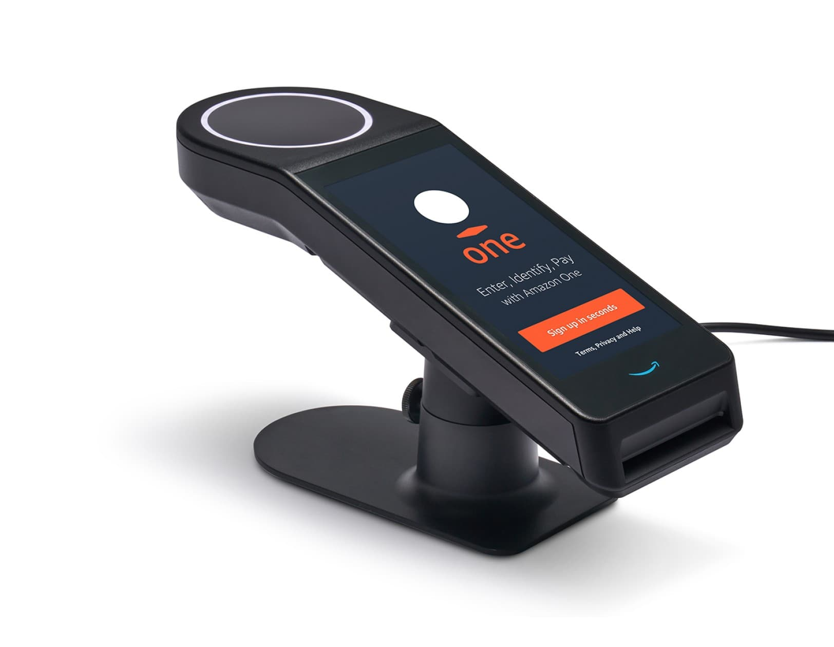 Amazon One -Palm scanner