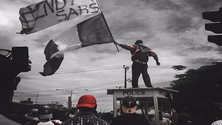 Brands support #EndSars protest