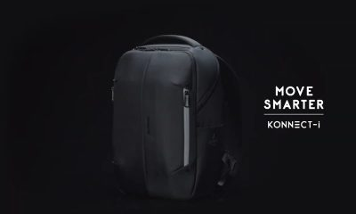 Meet the Konnect-i backpack supported by Google's Jacquard technology