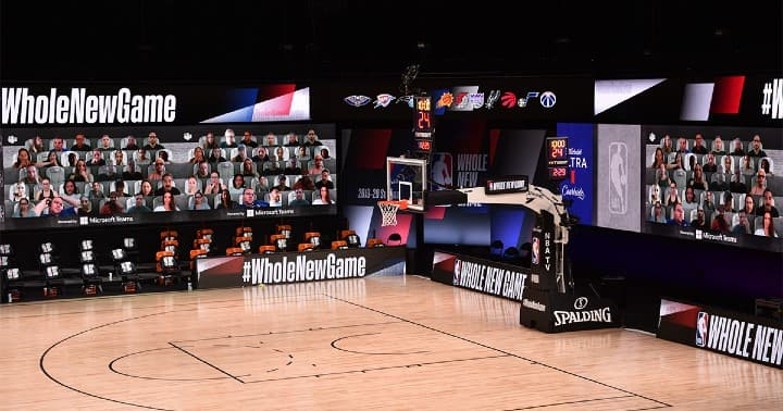 Microsoft Teams collaborates with NBA