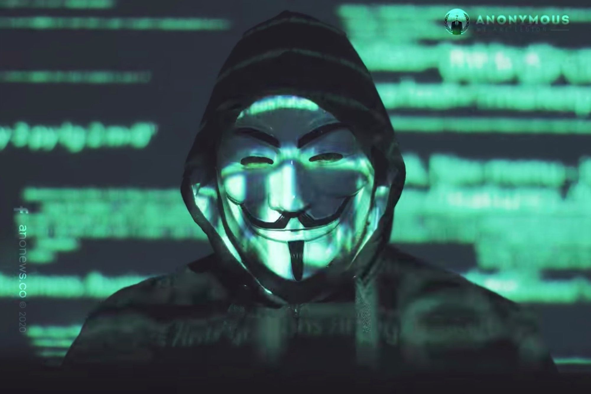 The Anonymous Hackers Allegedly Hacked The Website of The Nigerian Government