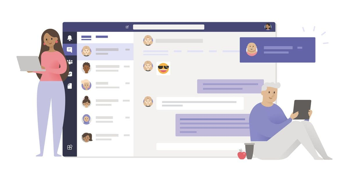 Collaborating on the Microsoft Teams App
