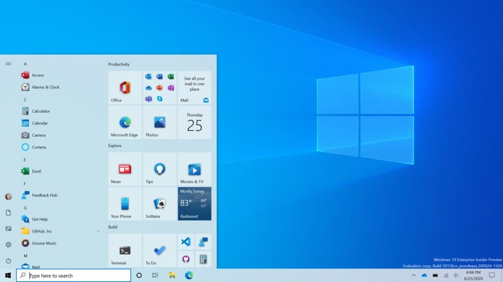 Microsoft releases new Windows 10 20H2 update