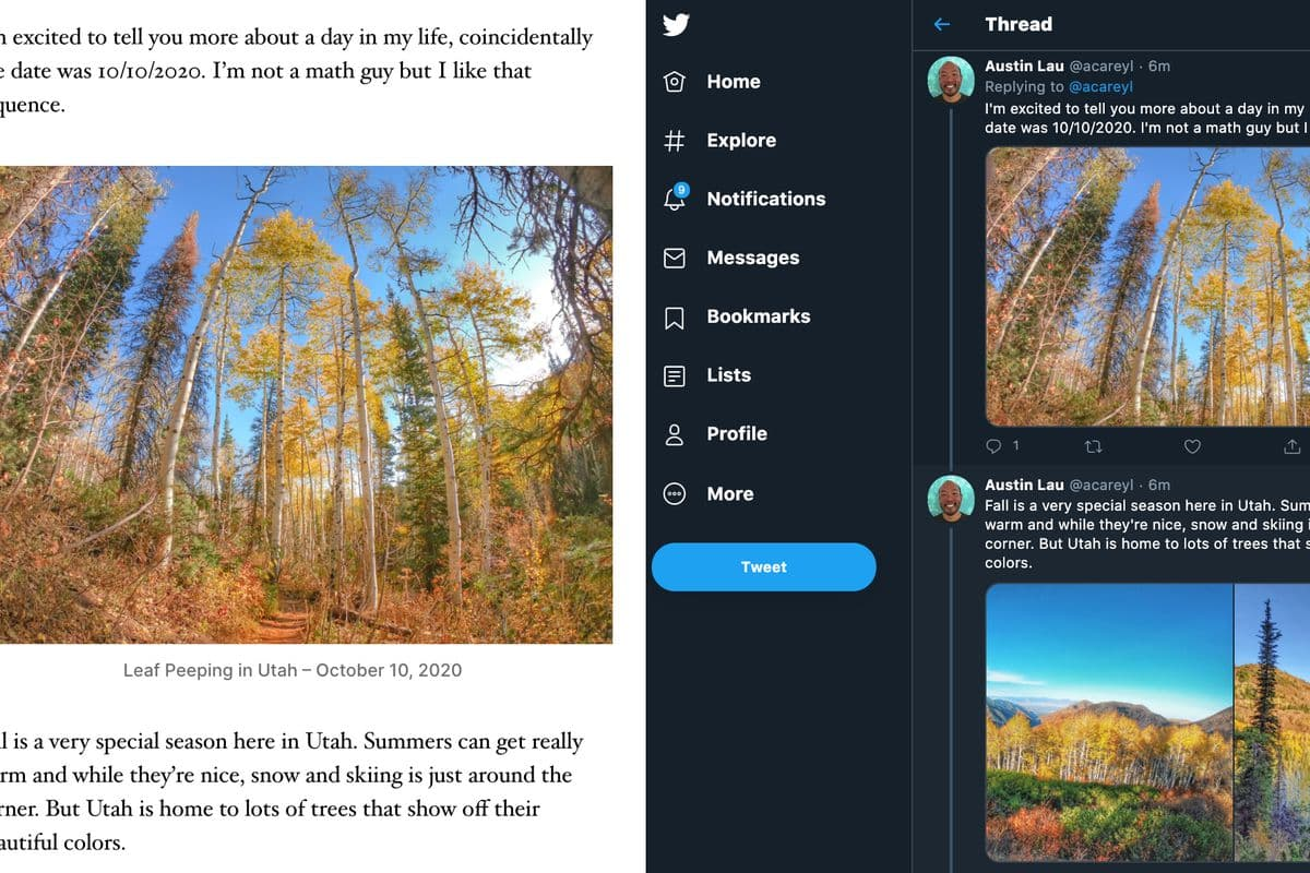WordPress now has a tool that can automatically turn blogposts into tweetstorms