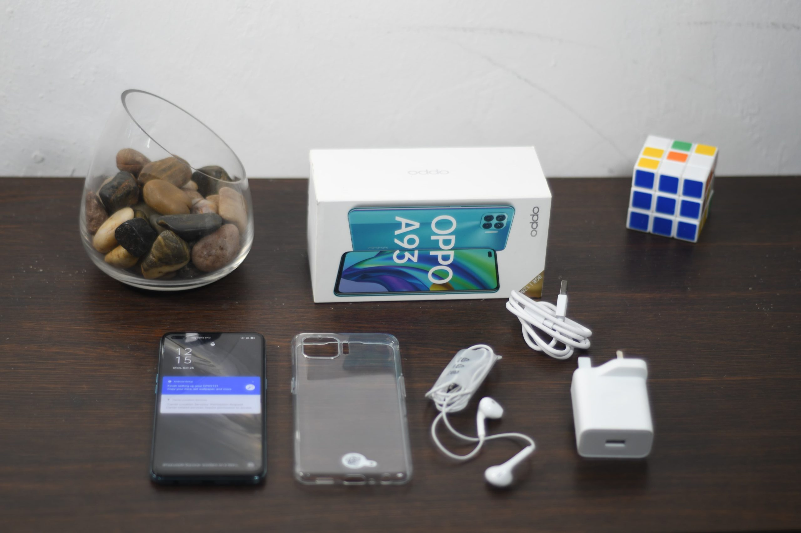 Unboxing Oppo A93