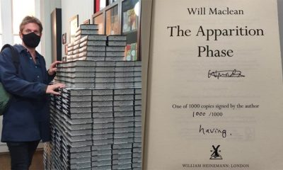 Author hides a story in 1000 copies of his debut novel