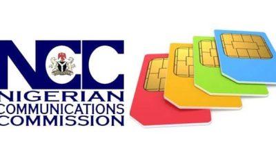 NCC orders SIM card deactivation in 2 weeks
