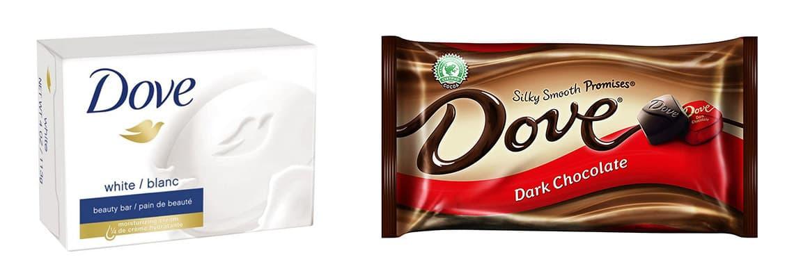 Dove Chocolate Vs Dove beauty soap (1)