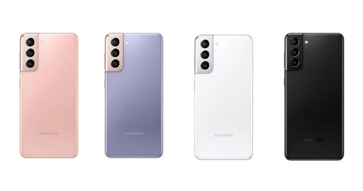 Samsung Galaxy S21 new look