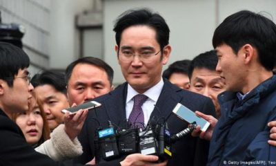 Samsung chief sentenced to jail for two and a half years
