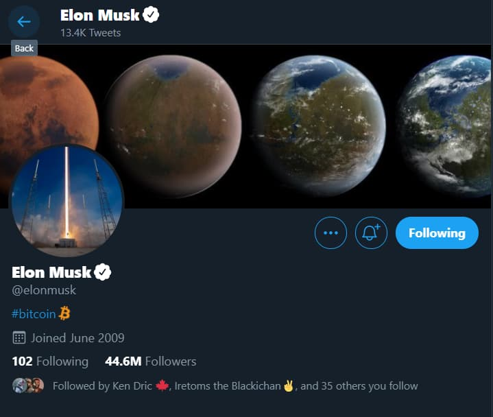 Elon Musk influences stock price shifts with simple tweets