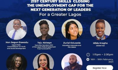 EHINGBETI 2021: Lagos State to Work on a Labor Market Information System