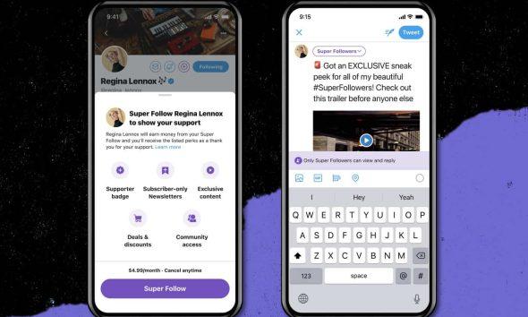 Twitter announces new Super Follow feature