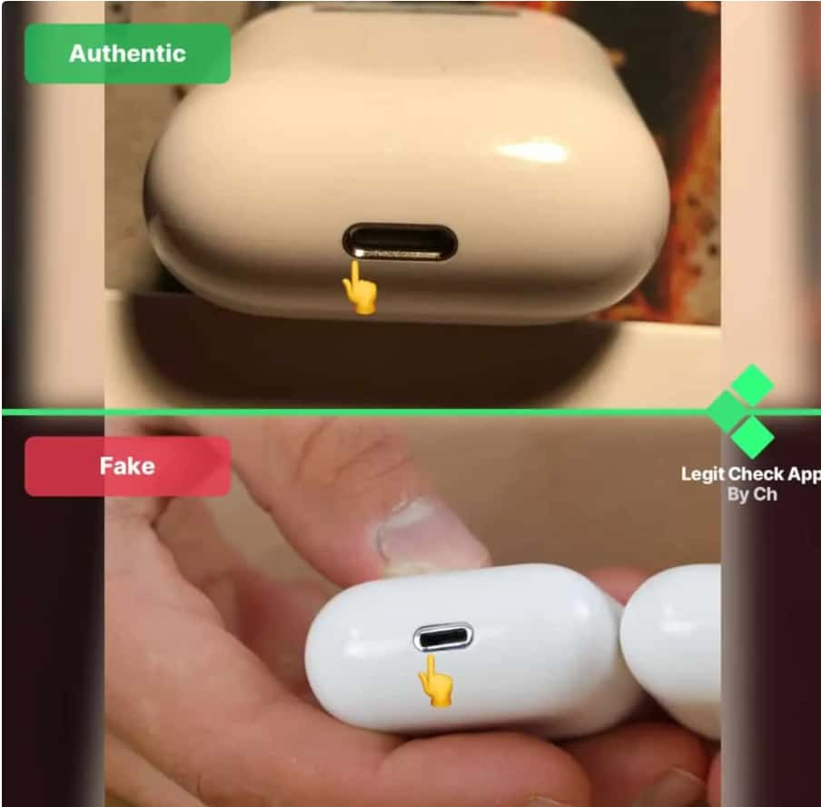 How to spot fake AIrPods