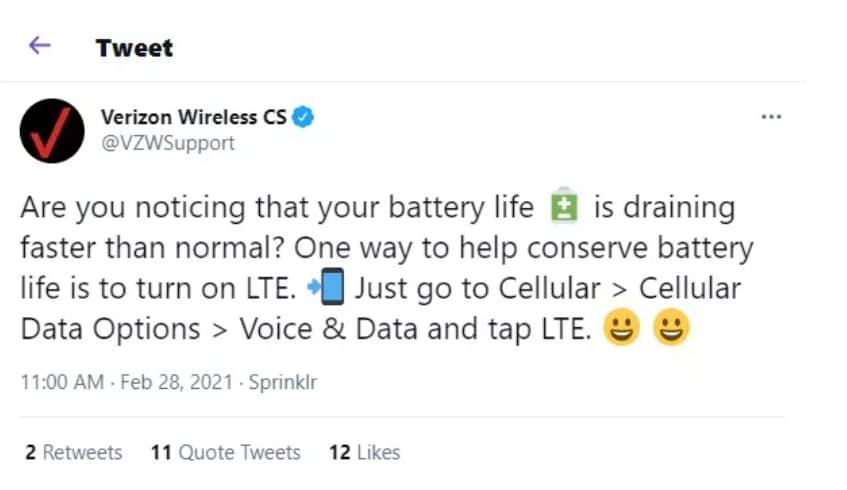 Verizon's Sunday PR stunt