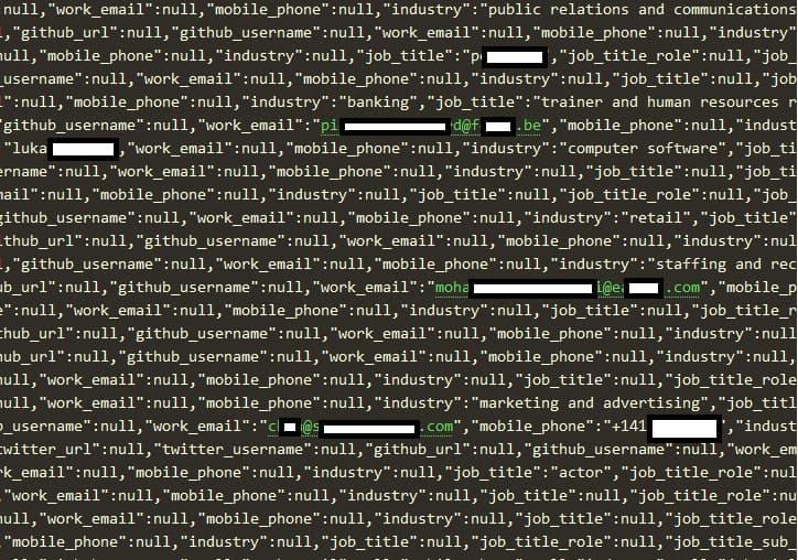 LinkedIn account users data leaked