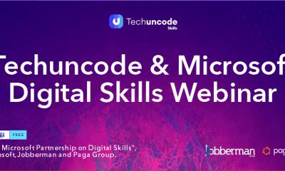 Techuncode & Microsoft Digital Skills Webinar