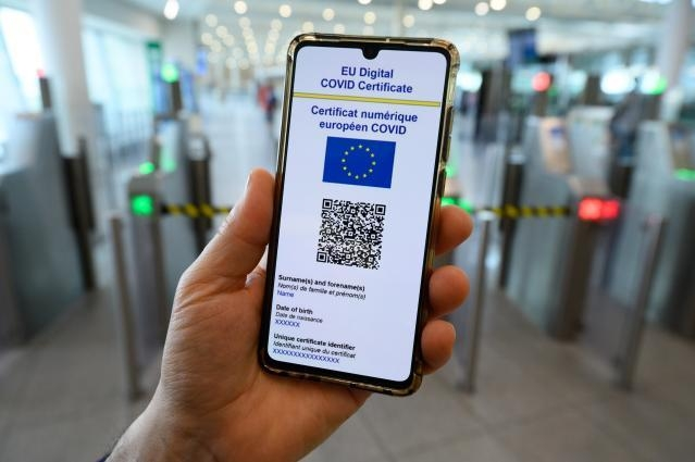 EU vaccine digital passport