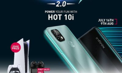 Infinix Hot10i, phone, mobile, android go, giveaway, campus,