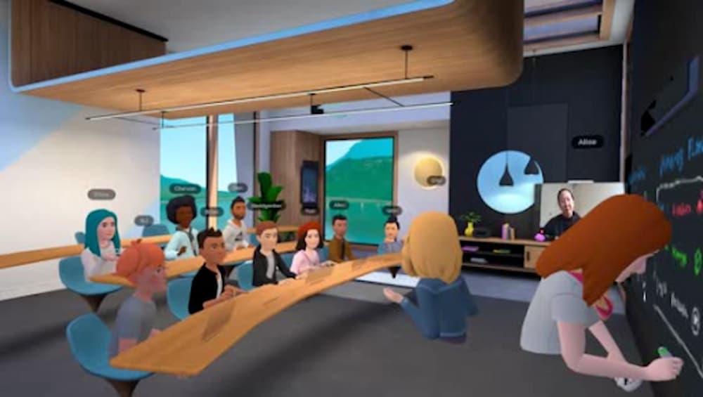 Facebook VR Horizon Workroom App