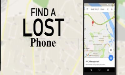 How to find Lost phone track edited