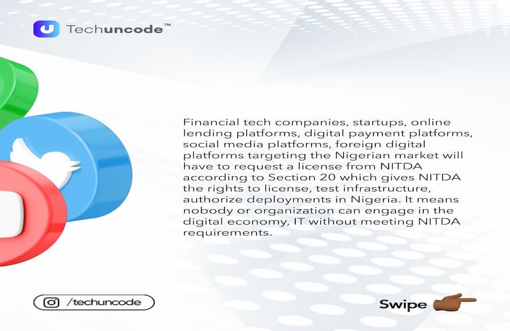 How Nigeria's NITDA Bill Will Affect Twitter, WhatsApp, Other Digital Platforms