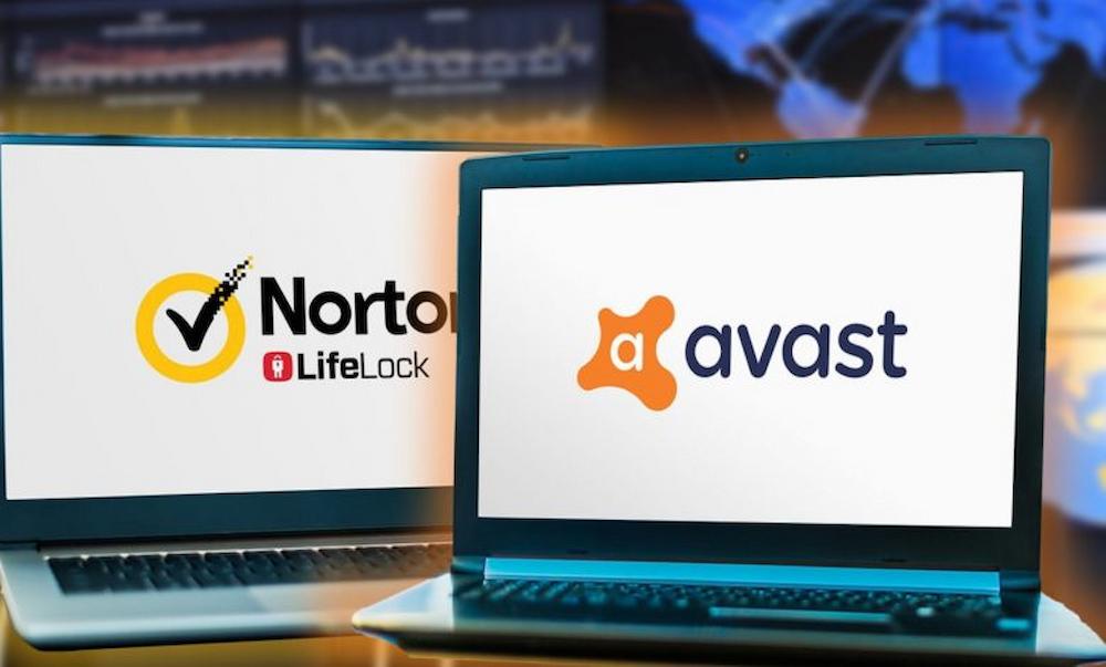 Norton and Avast antivirus,