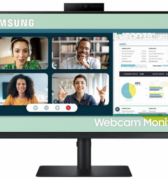 Meet Samsung's First 24-Inch Monitor With Pop-up Webcam, Features For Video Conferencing