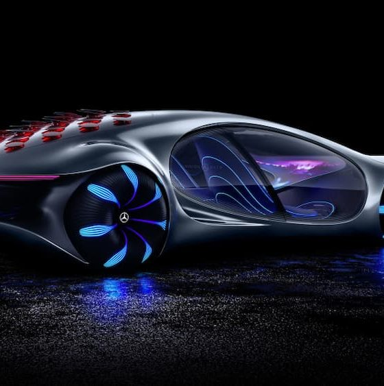 Mercedes Benz Futuristic Cars You Can Drive With Just Your Mind (Photo: Mercedes-Benz)