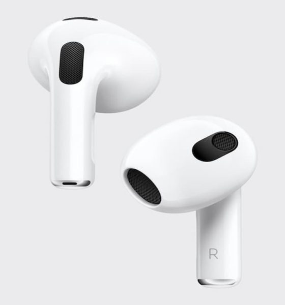 Apple Introduces 3rd Gen AirPods With Sweat, Water-Resistant Capabilities
