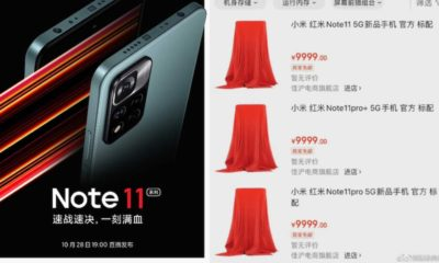 Xiaomi It's Official: Redmi Note 11 Series Launch Now October 28