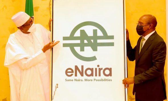 eNaira not cryptocurrency;eNaira launch by Buhari-emefiele (1)