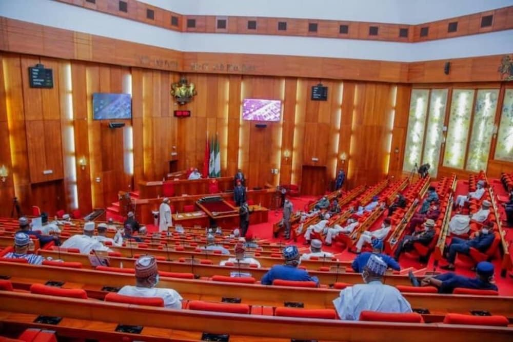 Senate, electronic transmission of result, INEc