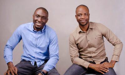 Founders of Sendbox, Emotu Balogun and Segun Afolahan